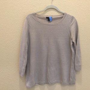 J Crew Linen Sweater